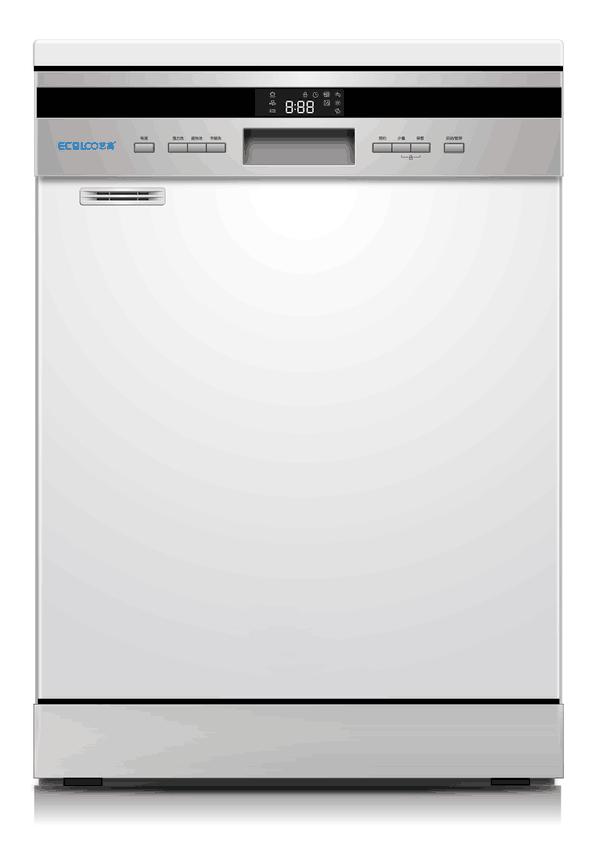 强烘干+易储存+大容量=艺高ECO-12T家用洗碗机!